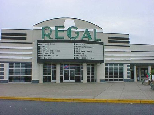 Regal comidy movie theater